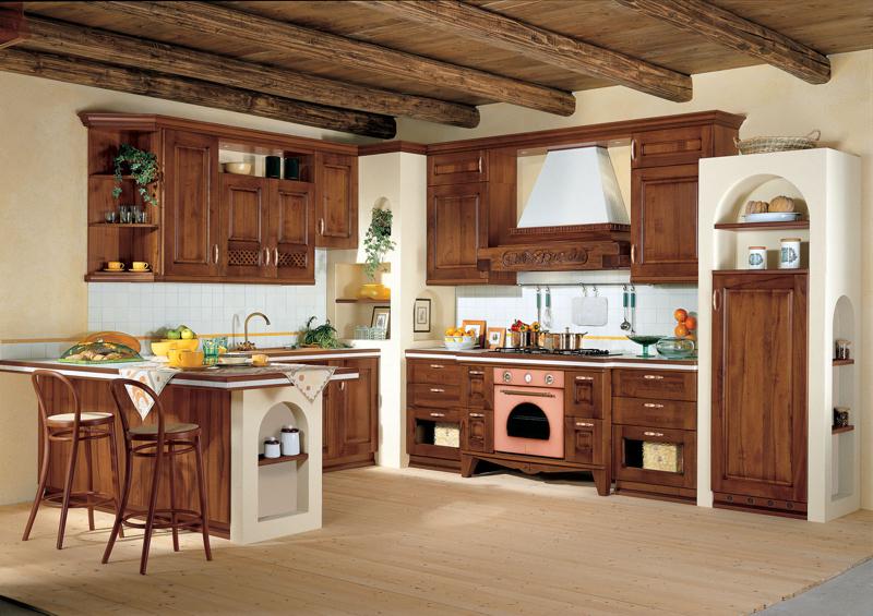 Cucine classiche a rovigo rossano arreda - Cucina rustica ikea ...